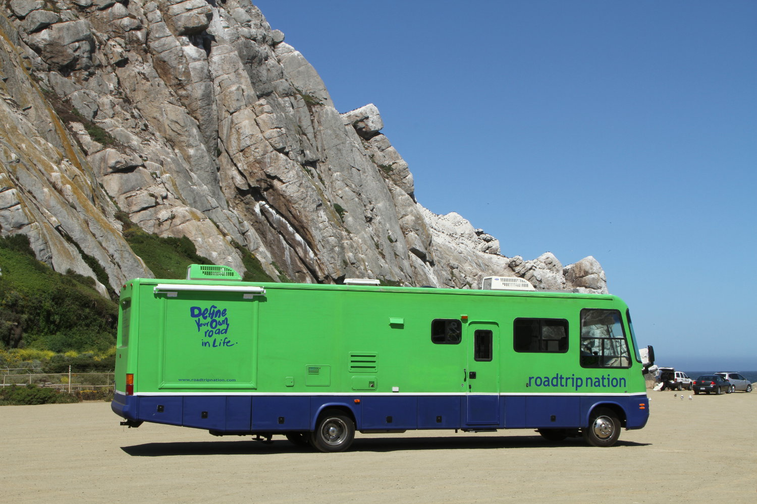Roadtrip Nation's Green RV 'Ellie'