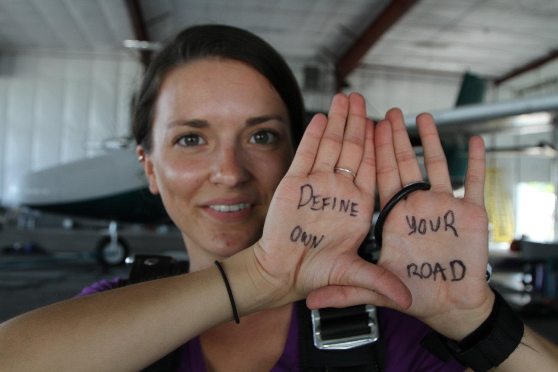 Roadtripper Megan shares a message
