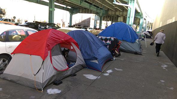 homeless camp san francisco