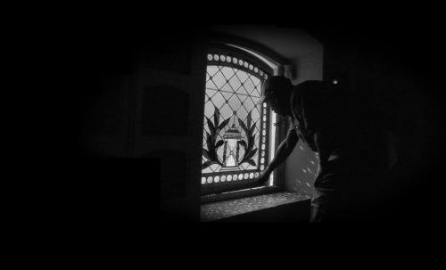 Emmitt Watson in the Columbarium.