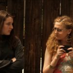 """Lein (Sophia Rose Vail) and Amber (Samantha McCullough) in """"I Feel Stupid."""""""