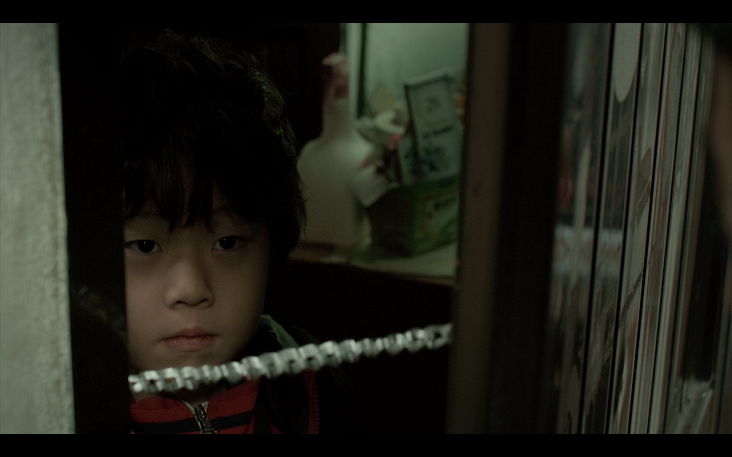 Very first appearance of the Kid played by Youngjoon Kim