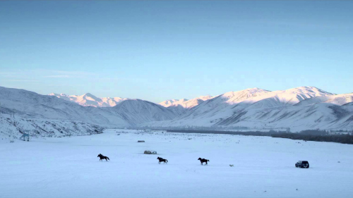 The stunning vistas of Kyrgyzstan