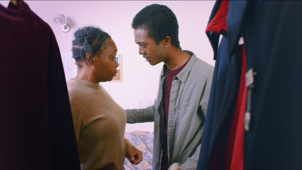 Angela Wynter and Matthew Jacobs Morgan in 'Gracie'