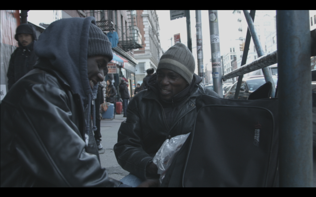Jungle explores the relationship between two street vendors.