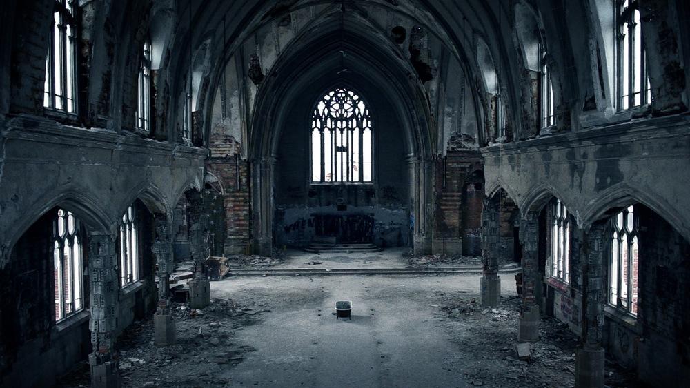 king ripple abandoned church