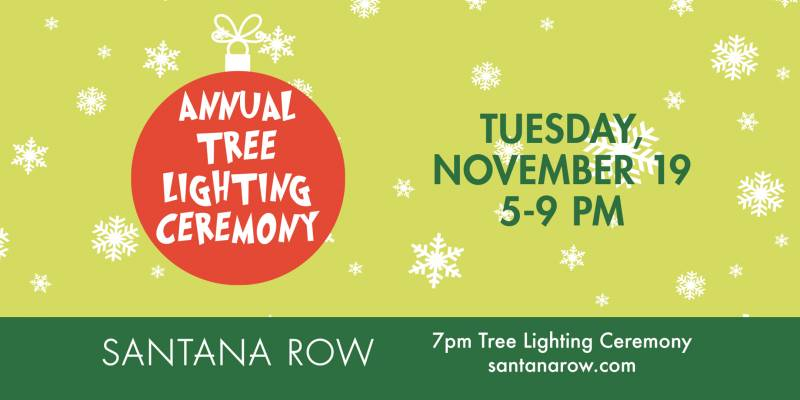 Santana Row Annual Tree Lighting