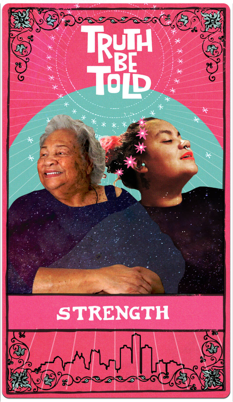 Joy episode tarot card strength